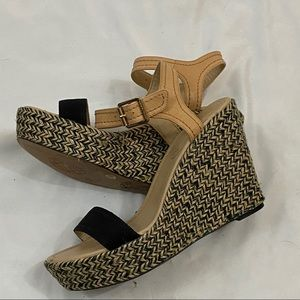 Vince Camuto Wedge Heels Size 9.5
